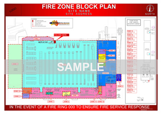 Fire Detection EWIS plan