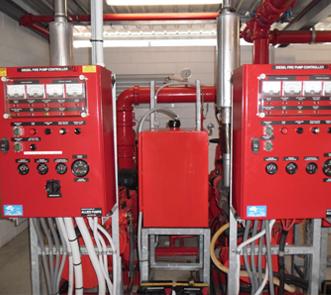 Fire pump controls