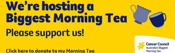 Australia's Biggest Morning Tea 2021